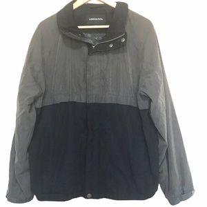 London Fog men's two tone zip up jacket L